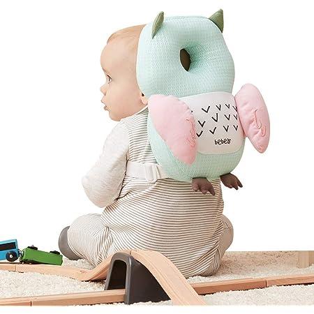 Bebamour Baby Head Schutzpolster Atmungsaktive Köpfe Stützkissen Für Kleinkinder Verstellbare Kopfstützen Rückenschutzkissen Turtle Baby