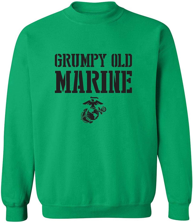 Grumpy Old Marine Crewneck Sweatshirt