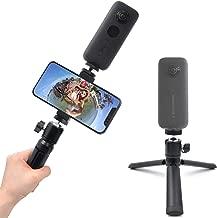 STARTRC Mini Tripod for Selfie Stick Monopod Stabilizer,Handheld Folding Cellphone Aluminum Tripod Mount Stand for Insta360 ONE X/EVO Camera Accessories