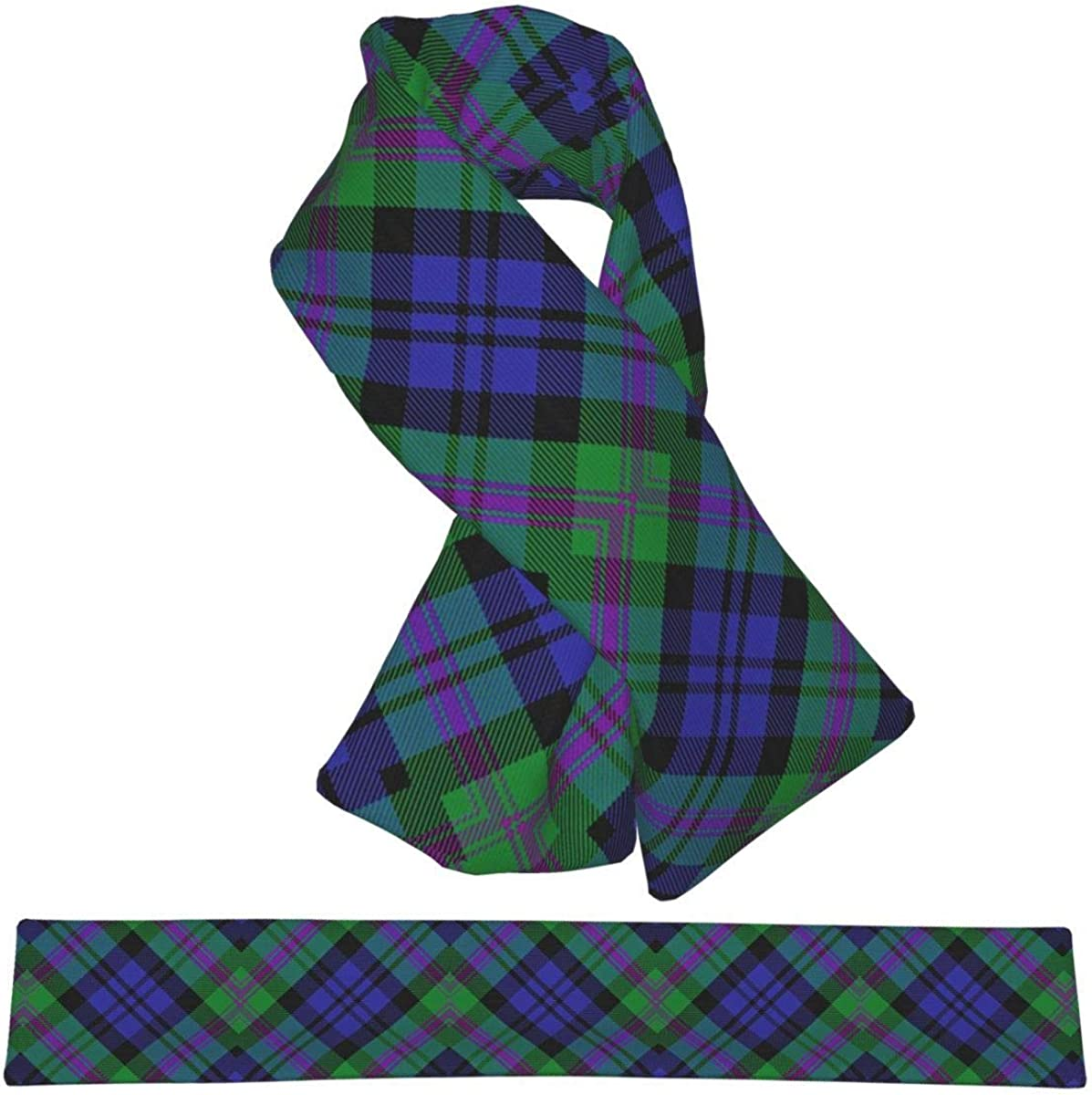 Scots Style Clan Kincaid Tartan Plaid Flannel Scarf Warm Neck Windproof Scarves For Women And Girls