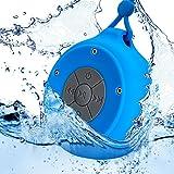 Mini Waterproof Hanging Shower Speaker, Durable, Rugged & Portable...