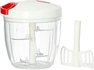 Delcasa DC1413 Manual Food Chopper Mini Hand Pull Food Processor/Mixer/Cutter/Dicer Manual Handheld Food Chopper Pull Stri...