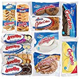 Hostess Variety Pack | Honey Buns, Coffee Cake, Donettes, Cakes, and Danish | 12 Packs (36 pieces)