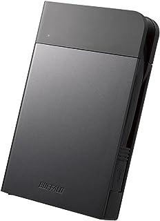 BUFFALO USB3.1(Gen1)対応 耐衝撃ポータブルHDD 2TBブラック HD-PZF2.0U3-BKA