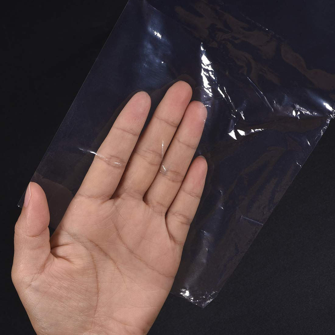 uxcell Shrink Bags 20x16 inch 100pcs Shrinkable Wrapping Packaging Bags Industrial Packaging Sealer Bags PVC Heat Shrink Wrap Bags