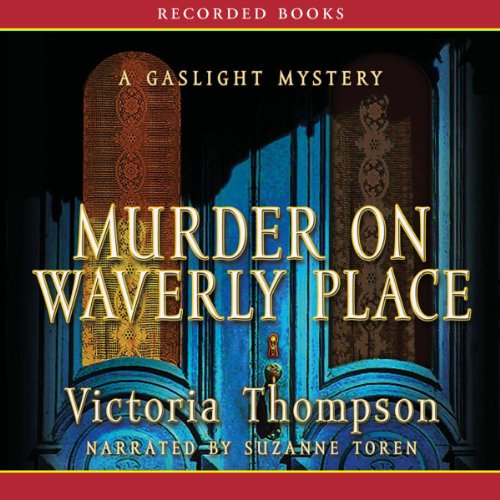 Murder on Waverly Place audiobook cover art