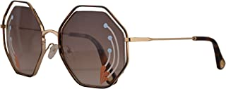 Chloe Poppy Limited Edition CE132SRI Sunglasses Gold w/Brown Gradient Lens 58mm 258 CE 132SRI