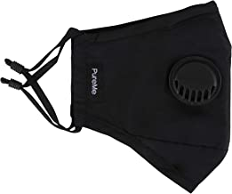 PureMe Reusable N95 Anti Pollution Mask with 2 Activated Carbon Filters
