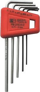 PB Swiss Tools PB 210H-2 Hex wrench set