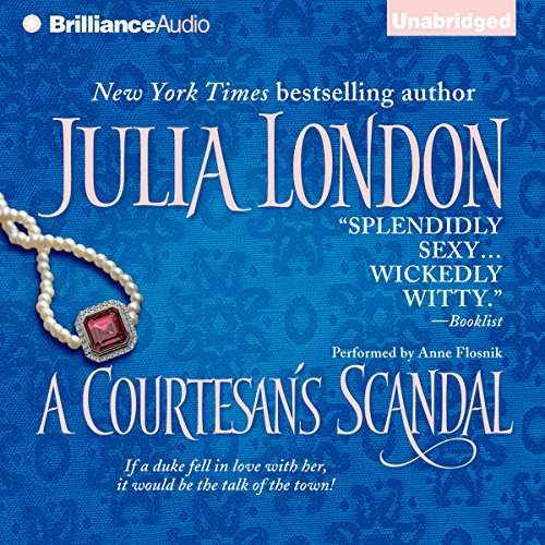 A Courtesan's Scandal audiobook cover art