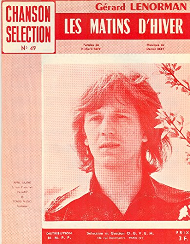 Les Matins D\'hiver Chanson selection n° 49