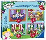 Ravensburger- Ben and Holly Rompecabezas 4 en 1 (6957)