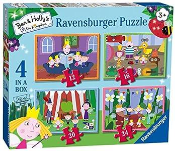 Ravensburger- Ben and Holly Rompecabezas 4 en 1 (6957)