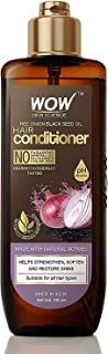 WOW Skin Science Onion Conditioner With Red Onion Seed Oil Extract, Black Seed Oil & Pro-Vitamin B5 - No Parabens, Mineral...