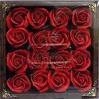 バスフレグランス バスフラワー ミニローズフレグランス(M)レッド ギフト お花の形の入浴剤 プレゼント ばら
