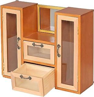منظم مكياج سطح المكتب ، منظم متعدد الوظائف ، صندوق تخزين مستحضرات التجميل مع أدراج ، لخزانة الملابس ، غرفة النوم ، الحمام...