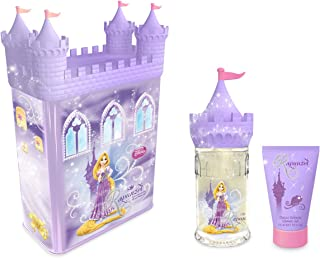 Disney 2Piece Set Tin, Rapunzel Castle