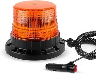 GPPOWER LED Emergency Car Lights, Strobe Flashing Warning Beacon Light With Magnetic Mount 9-85V
