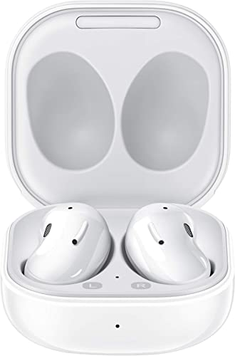 Samsung Galaxy Buds Live, True Wireless Earbuds w/Active Noise Cancelling (Wireless Charging Case Included), Mystic W...