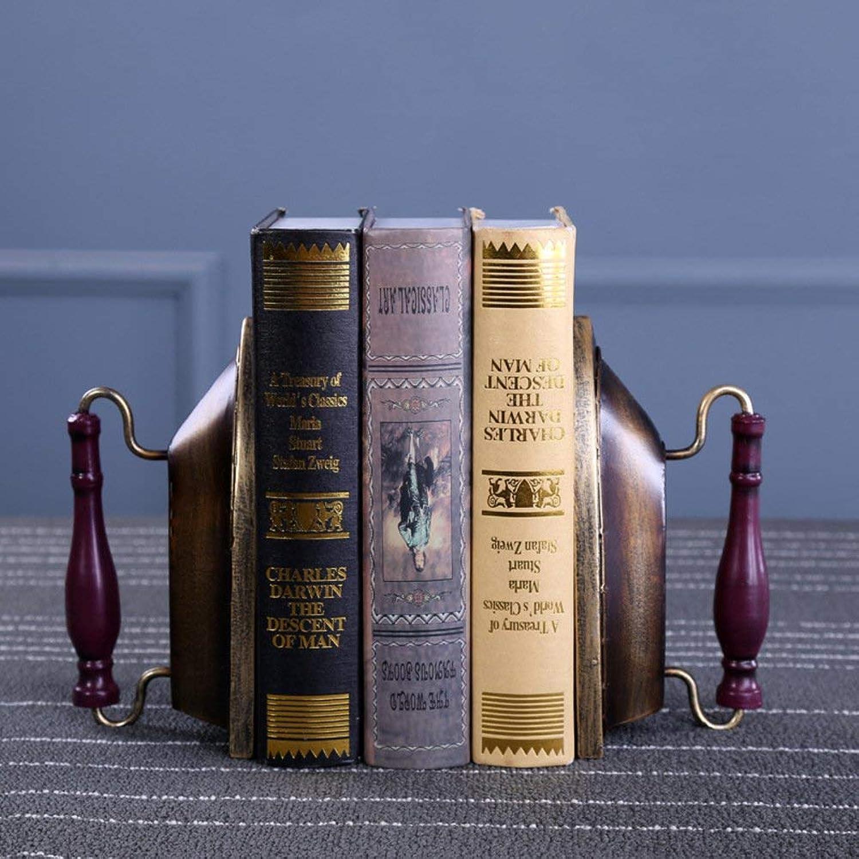 Bücherregal Kreative Haushaltsartikel Harz Eisen Buchstützen Tischdekoration Studienbuch-Golden für ein Geschenk (Farbe   Golden) B07NHTXG1H | Die erste Reihe von umfassenden Spezifikationen für Kunden