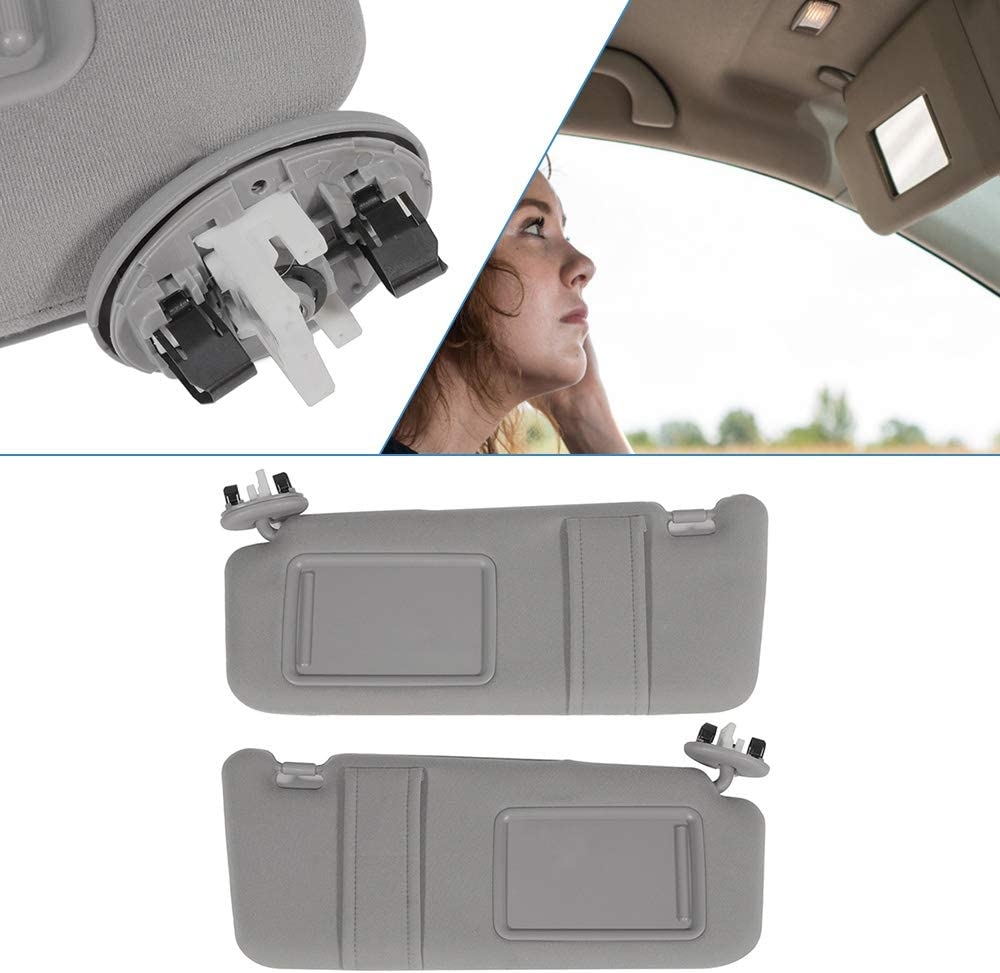 ECCPP Gray Sun Visor Pair Left supreme and for 2008 fit Special price 2006 Right 2007