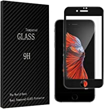 The Tempered Film is Compatible with 5.5inch, iPhone 7plus, 8plus(Black)