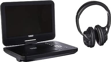 NAXA Electronics Personal DVD Player with Bluetooth, Black (NPD-1004)