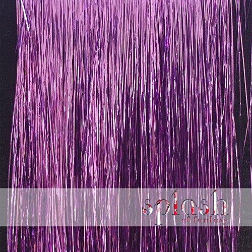 40' Hair Tinsel 100 Strands (Wisteria Lavender)