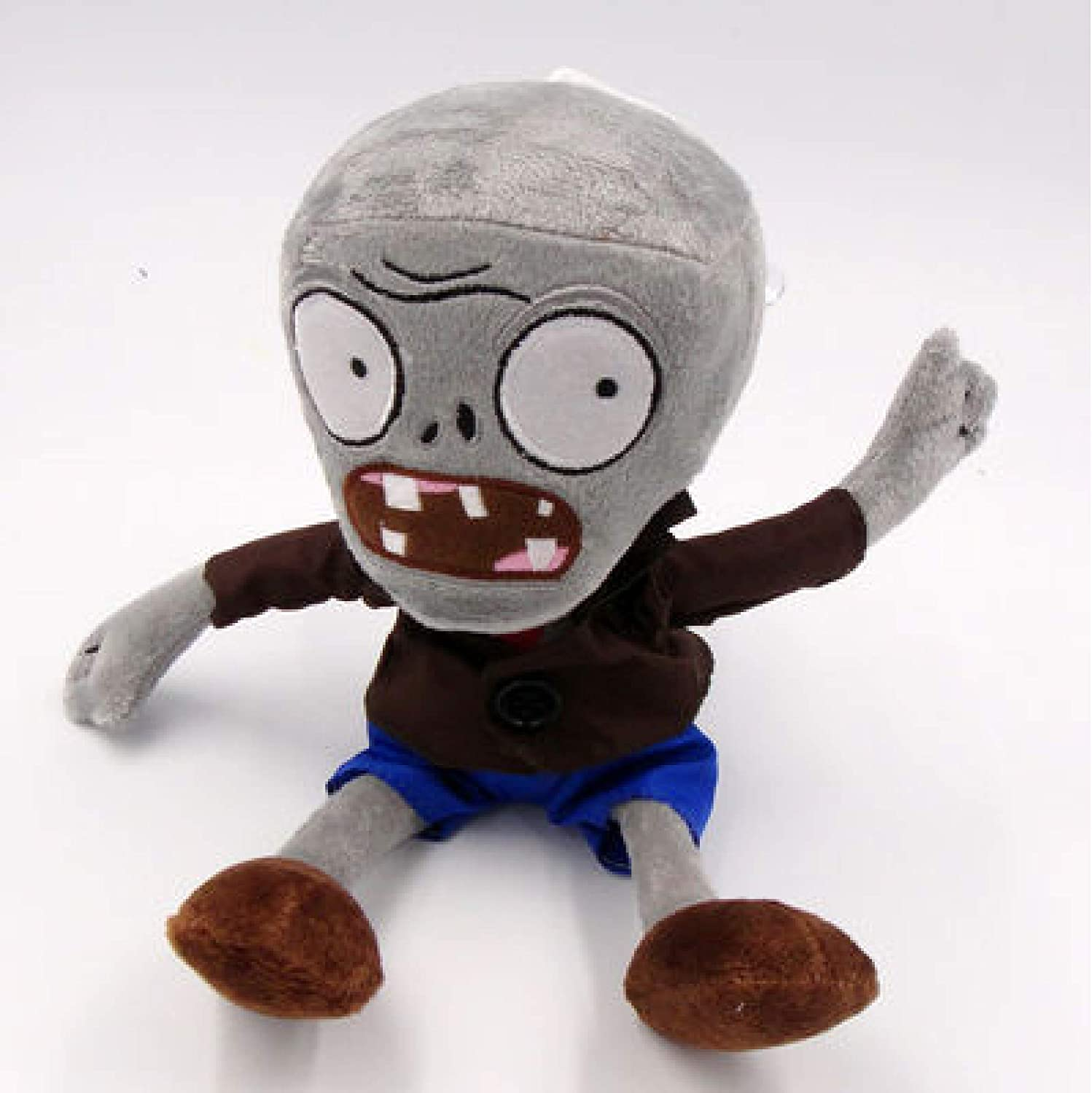 ZJSXIA Plant Vs Zombies Halloween Grey Plush Max 90% OFF 30Cm Zombie Super beauty product restock quality top Do Toys