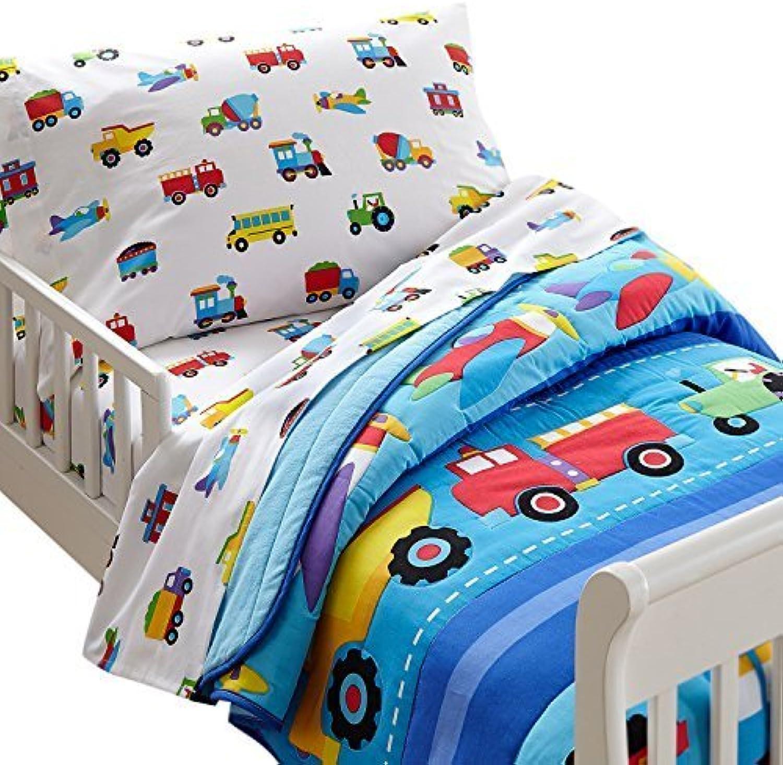 calidad oficial Olive Kids Trains, Planes, Planes, Planes, Trucks Toddler Comforter by Olive Kids  están haciendo actividades de descuento