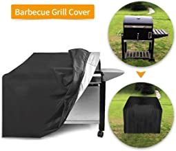 Essort Barbecue Cover, Drawstring Breathable Waterproof Polyester Anti-Dust Protection Cover for Barbecue Grill (31.5''x26''x39'')