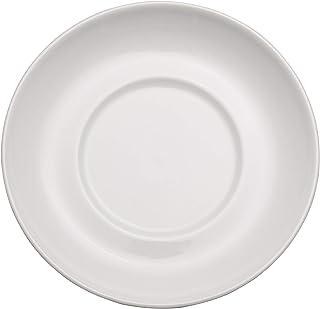 Chef Expressions 4-1/4インチ 丸型ソーサー AD エスプレッソカップ用 レストラン品質 ビトリファイドブライトホワイト磁器 (12個入り)