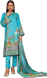 3-Piece Unstitched Lawn Suit/Salwar Kameez by Gul Ahmed