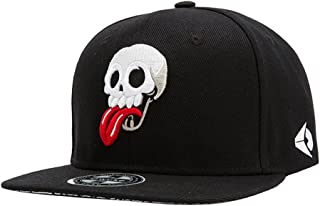 Hombres Chicos Modernos 3D Bordado Cráneo Gorra de Beisbol Gorra Hip Hop