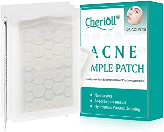 Acne Pimple Patch, Acne Healing Patch, Acne Stickers, Face & Skin Spot Patch Conceals Acne, Absorbing Cover, Invisible, Blemish Spot, Hydrocolloid, Skin Treatment (128Counts)