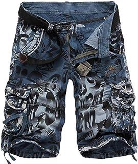 Buildhigh clothes Short Pant Camo Multi-Pocket Fashion Cargo Shorts
