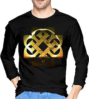 AlbertJ Men's Breaking Benjamin Dark Before Dawn Long Sleeve T-Shirts Black XL