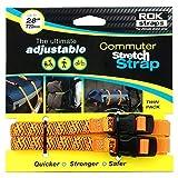 OXFORD ROK Straps LD 12mm Adj Naranja Reflectante ROK331