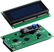Cvmnkljfger Raspberry Pi LCD2004 Serial I2C Interface LCD Module Display with Jumpwire Fit for Raspberry Pi 3B/3B+(Plus)