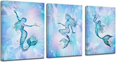 Amazon Com Mermaid Pictures Wall Art