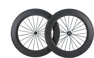 Queen Bike 88mm Carbon Wheels 700c Wheelset Matte Finish Bike Carbon Wheels Clincher