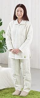 ストライプ柄パシーマパジャマ冬用 暖かぐっすり睡眠_大人用 M寸 (身長160~173㎝)男女共通