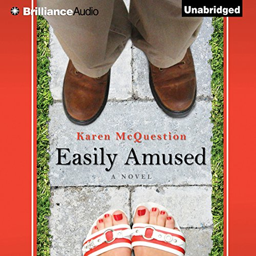 Easily Amused audiobook cover art