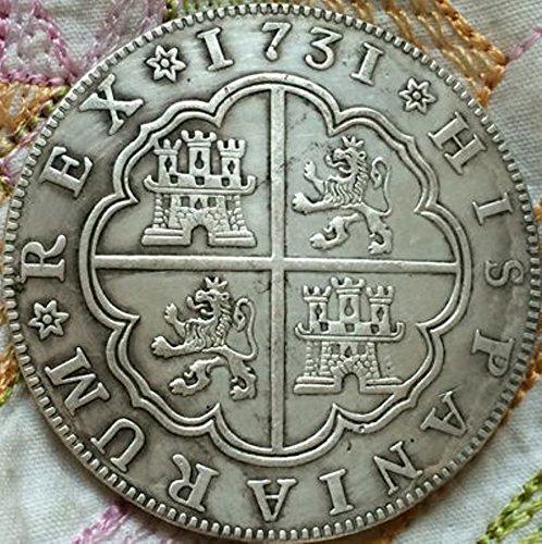 Bespok Souvenirs - Monedero de 8 Reales, diseño Europeo Antiguo