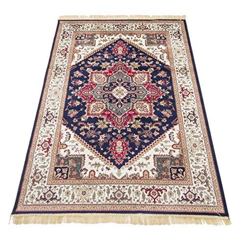WEBTAPPETI.IT Orientalischer Teppich Heriz Klassischer Teppich Rubine 304-Blau 160 x 230 cm