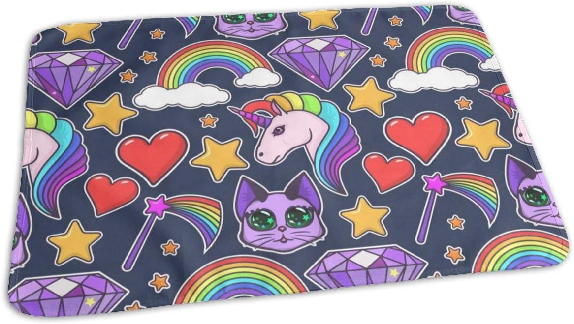 UAJAR Rainbow Unicorn Diamond Baby P Cover Changing Reusable Pad Max Free Shipping New 66% OFF