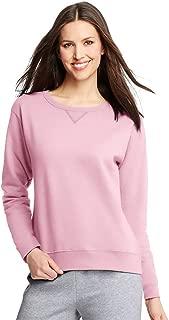 Hanes ComfortSoft EcoSmart Women's Crewneck Sweatshirt