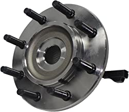 Detroit Axle - Front Wheel Hub and Bearing Assembly - Driver or Passenger Side fits 4x4 Only - 8-Lug w/ABS