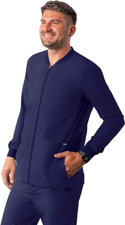 Adar Addition Sale special price Scrubs for Men Zippered half Bomber - Jacket Scrub