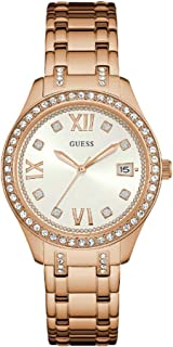Guess Waverly Women's Silver Dial Stainless Steel Band Watch - W0848L3